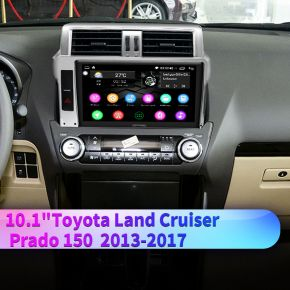 android auto toyota land cruiser