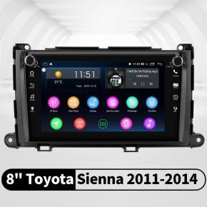 toyota sienna head unit