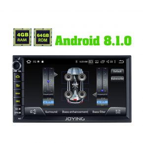EU Warehouse 4GB/64GB Android 8.1.0 Touch Screen Car Head Unit Replacement