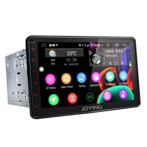 JOYING Europe Warehouse 8 Inch Double Din Android 8.1.0 Car Sound System with 4G SIM Card Slot