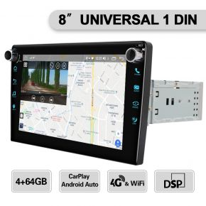 single din 8 inch touch screen