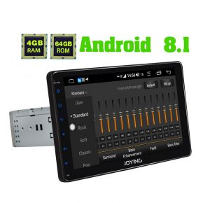 JOYING Germany Warehouse 9 Inch Single Din Android Auto Carplay Radio System 4GB+64GB