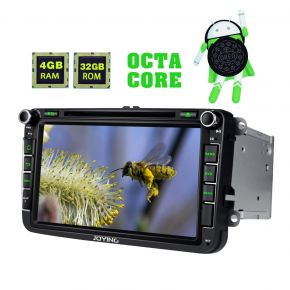 Joying AU Warehouse Android 8.0 VW Skoda Seat 8 Inch Navigation System