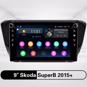 Skoda SuperB 2015+ Car Radio