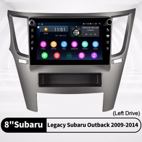 subaru legacy aftermarket radio