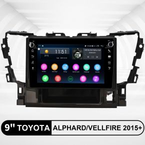 toyota alphard vellfire android head unit