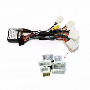 Joying Toyota Special Harness with Can-bus Decoder
