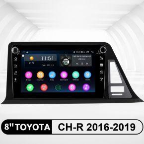 toyota ch-r head unit