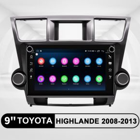 toyota highlander android head unit