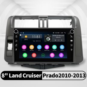 Joying 8 Inch 2010-2013 Toyota Land Cruiser Prado 150 Android Car Navigation System