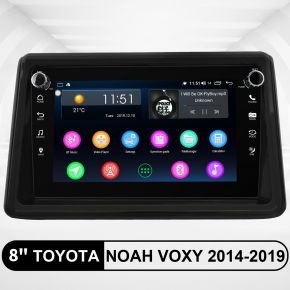 toyota noah voxy android head unit