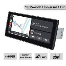10.25-inch universal 1 din