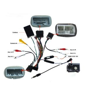 Joying 2012 Honda Civic Stereo Canbus Harness