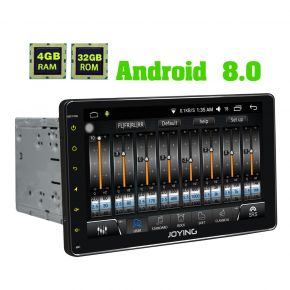 Joying 9 Inch Double Din Android 8.0 Oreo 4GB/32GB Car Navigation System with Digital Amplifier
