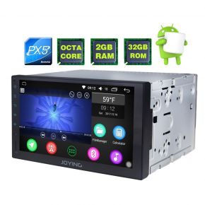 EU Warehouse Android 7 Inch Double din Touch Screen Bluetooth Car Stereo