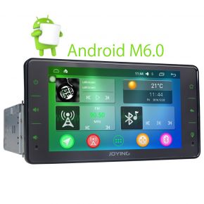 EU Warehouse 6.2 Inch Single Din Android Car Stereo System