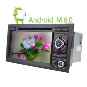 Joying Best Audi A4 7 Inch Touch Screen Android Car Navigation System Head Unit Replacement