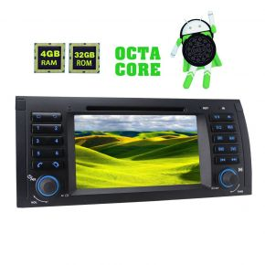 JOYING Aftermarket Android 8.0 Octa Core Car Navigation System 4GB/32GB for BMW E39 E53