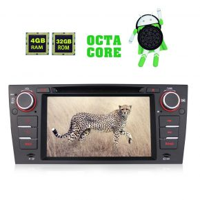 BMW E90 Android 8.0 Octa Core 7 Inch Car Stereo Upgrade with Navigation