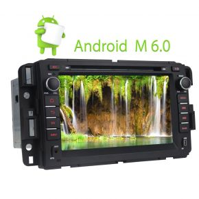 Chevrolet GMC Buick Android Car Stereo 7 Inch Touch Screen Bluetooth Head Unit