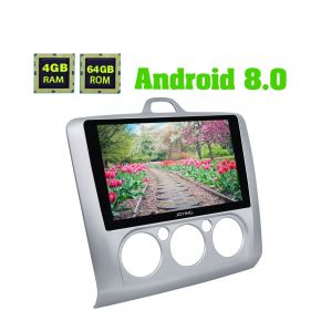 Joying New Design Android Oreo System 9 Inch  Touch Screen Car GPS Navigation for Ford Focus 2005 - 2012