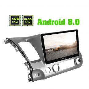 Joying Android 8.0 Plug And Play Car Head Unit with Bluetooth for Honda Civic 2006 -2011