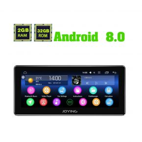 Joying New 8.8 Inch Single Din Android 8.0 Head Unit Replacement 2GB/32GB Car Stereo For Universal Cars