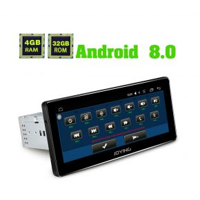 Joying Germany Warehouse Android 8.0 Octa Core 8.8 Inch Single Din Car Navigation System 4GB/32GB