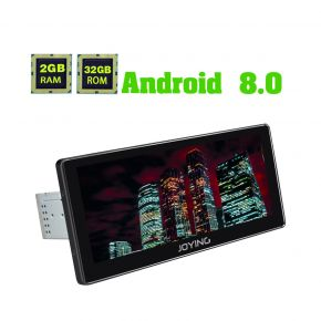 Joying New Developed 10.25 Inch Single Din Android 8.0 Octa Core Car multimedia player Head Unit