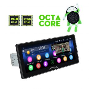 Joying EU Warehouse 10.25 Inch Android 8.0 Oreo Car Music System Head Unit