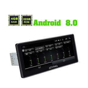 Joying Europe Warehouse 10.25'' Wide Screen Android 8.0 Car Media Player support Android Auto Carplay