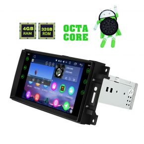 Jeep Dodge Chrysler Android 8.0 Plug And Play Car Navigation System Stereo 4GB/32GB