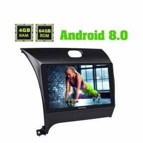 Joying 9 Inch Kia K3 Cerato Forte Android Car Radio System Android Oreo PX5 Octa Core With Full Touch Screen