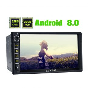 Joying newest Nissan Android 8.0 Auto Car Stereo With Navigation 7 Inch Double din 2GB Radio Replacement