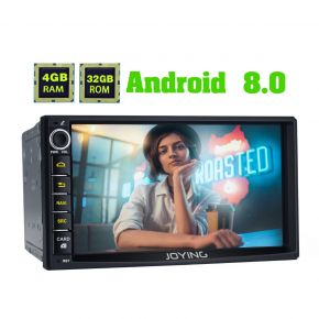 Australia Warehouse Android Auto Head Unit 7 Inch Double Din 4GB Android 8.0 Navigation System