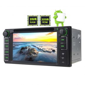 Joying Toyota Scion Prado Highlander Hilux Rav4 6.2 Inch Android Auto Bluetooth Car Stereo 2GB