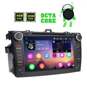 Toyota Corolla Plug and Play Android 8.0 Car Music System 4GB/32GB