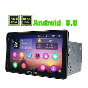 JOYING Latest Android 8.0 Oreo 8 Inch Toyota FJ Cruiser Tundra Car Stereo Upgrade 4GB