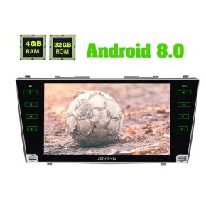 Joying Android 8.0 Oreo 9 Inch Toyota Camry Aurion Car Navigation System Head Unit