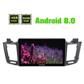 Joying 10.1 Inch IPS Screen Android 8.0 Car Navigation System for Toyota RAV4 2012 -2018