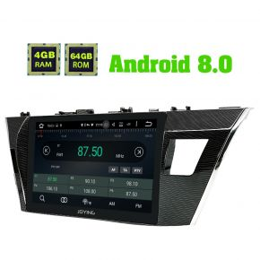 Joying Aftermarket Android 8.0 Toyota Corolla Car Sound System Upgrade 4GB/64GB