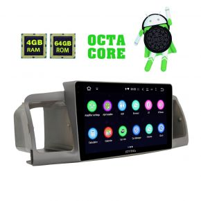 2003 - 2011 Toyota Corolla Android 8.1.0 Plug And Play Car Audio System Upgrade 4GB/64GB