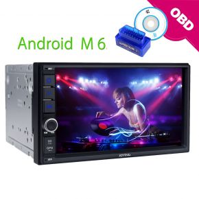 JOYING EU Warehouse 7 Inch Double Din Android Car Head Unit Replacement with Bluetooth