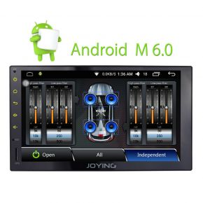 Joying US Warehouse 7 Inch Touch Screen Android Car Auto Radio with Internal Digital Amp