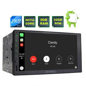Joying US Warehouse PX5 Octa Core Car Navigation System Double Din Head Unit