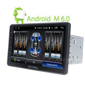 Joying US Warehouse 10.1'' Big Screen Android Audio System with Digital Amp