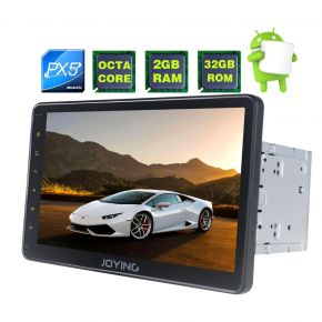 Joying EU Warehouse 10.1 Inch Double Din Big Screen Android Octa Core Car Music System Head Unit