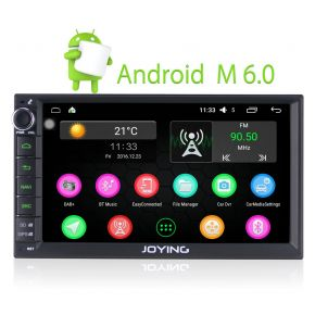 Joying EU Warehouse 7 Inch Double Din Android Car Audio Stereo 2GB/32GB Bluetooth Head Unit