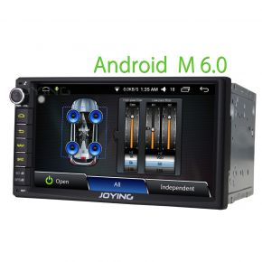 Joying EU Warehouse 7 Inch Android Double Din Car Stereo with Internal Digital Amp 2GB