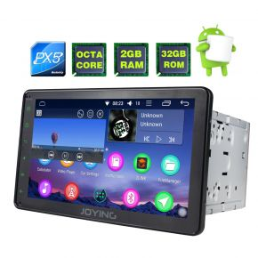 Joying EU Warehouse Android Octa Core 8 Inch Double Din Car Sound System Stereo Upgrade 2GB/32GB